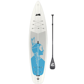 Indiana SUP 11'6 Touring Inflatable Sup Pack Ladies Premium with 3-Piece Carbon Paddle